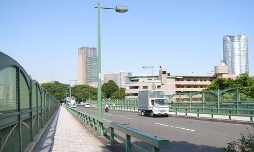 自転車店 自転車店 東京都中央区 : バンビ~ノ! ロケ地ガイド